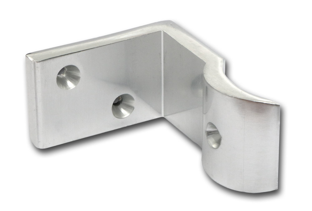 support aluminium pour rampe de main courante 50mm chrome cfixmc50l fabricant. Black Bedroom Furniture Sets. Home Design Ideas